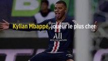 Kylian Mbappé, joueur le plus cher au monde !