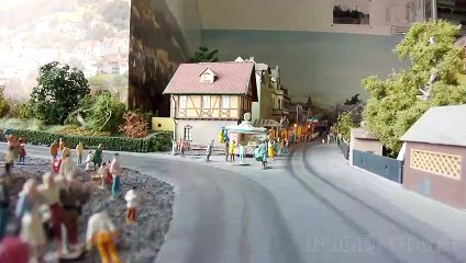 Trucks and Trains: Using the Runcam 5 as cab ride camera on the streets of a model railroad layout - Video by Pilentum Television about rail transport modeling, trains, model railroading, railway modelling, model railways and model railroads