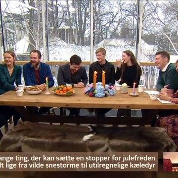 Tinka skuespillerne om deres vildeste juleaftener | Go Jul Danmark | TV2 Danmark
