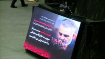 Dozens killed in stampede at Iranian general's funeral