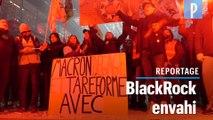 Réforme des retraites : des grévistes envahissent les locaux de BlackRock