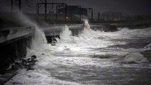 Storm hits Saltcoats Sea Front   7th Jan 2020