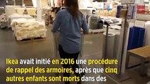 Ikea va verser 41 millions aux parents d'un enfant écrasé par une armoire