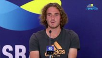 "ATP Cup 2020 - Stefanos Tsitsipas smashes his racket and hurts his father: ""He's fine"""