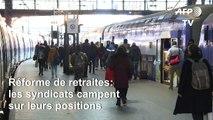 Retraites: syndicats et patronat campent sur leurs positions en attendant vendredi