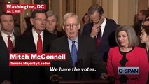 McConnell Says He Has The Votes To Begin Trump's Impeachment Trial Without Witnesses