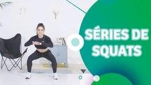 Séries de squats - Santé Physique