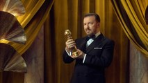 Tom Hanks Couldn't Stop Reacting To Ricky Gervais' Jokes At The Golden Globe Awards
