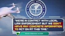 Drones misteriosos nos EUA