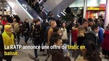 Grèves SNCF et RATP : un jeudi très compliqué, l'offre de transports en baisse