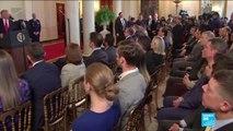 Donald Trump joue la carte de l'apaisement avec l'Iran