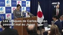Si Ghosn a des preuves, qu'il les présente à la justice, réagit le Japon