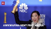 Awkwafina And Aquafina
