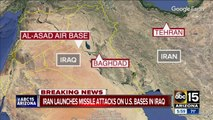 US official: Iran launches missiles into US air bases in Iraq