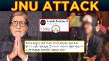 Amitabh Bachchan INSULTED For Reaction On JNU Masked MOB Attacks