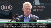 Australian Open tennis will survive new air quality rules says director