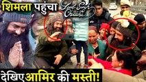 Aamir Khan Had An Amazing Time While Shooting For Laal Singh Chaddha In Shimla!
