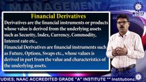 MBA || Dr. S  CHINNATHAMBI ||  Introduction to Financial Derivatives || TIAS || TECNIA TV
