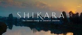 Shikara - Official trailer | untold story of kashmiri pandits | Vidhu Vinod Chopra | HD