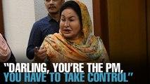 NEWS: Rosmah heard advising Najib to manoeuvre