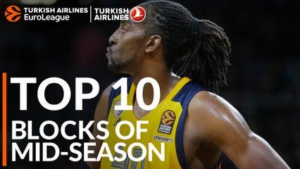 Top 10 blocks at mid-season!