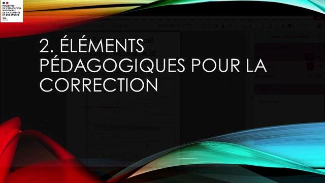 Santorin : système d'aide numérique à la notation et à la correction