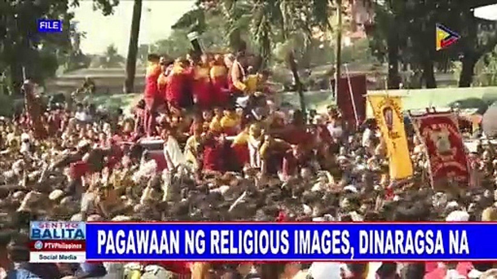Pagawaan ng religious images, dinaragsa na