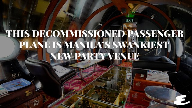 The Mosphil Lounge at Palacio de Memoria Is The Coolest New Place to Throw a Party