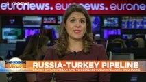 Putin and Erdogan meet in Istanbul for TurkStream inauguration