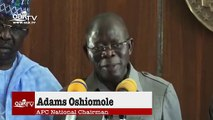 PDP behind rumors of 3rd term agenda – Oshiomhole