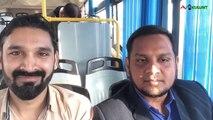 I met the people's in bus I Interagir avec les gens dans le bus de la ville I KUWAIT