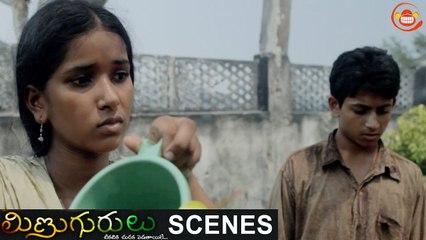 Children discussing on filming the hostel atrocities _ Minugurulu Telugu Movie _ Ashish, Suhasini