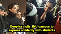 Deepika Padukone visits JNU campus to express solidarity with students