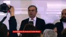 Découvrez les premières images de Carlos Ghosn qui doit donner une conférence de presse  - VIDEO