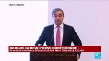 "Carlos Ghosn press conference: ""This allegations are untrue"""