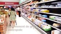 Grève: en Martinique, les rayons de produits frais se vident