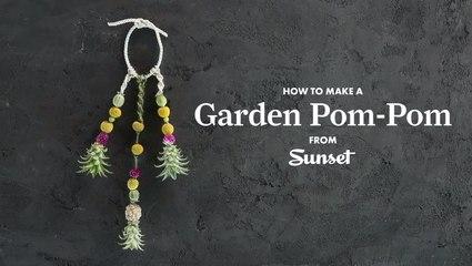 How to Make a Garden Pom-Pom
