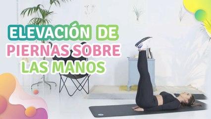 Elevación de piernas sobre las manos - Mejor con salud