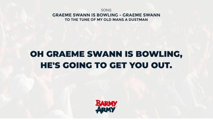 Graeme Swann is Bowling - Graeme Swann