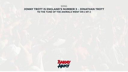 Jonny Trott is England's number 3 - Jonathan Trott
