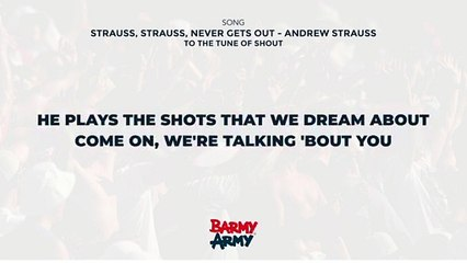 Strauss, Strauss, Never Gets Out - Andrew Strauss