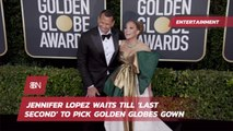 This Is What Jennifer Lopez Wore At The Golden Globes