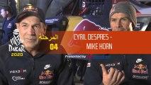 Dakar 2020 - المرحلة 4 - صورة اليوم - Mike Horn/Cyril Despres
