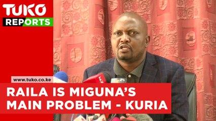 Raila Odinga is behind Miguna miguna's problems - Moses kuria | Tuko TV
