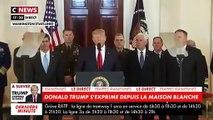 « Tant que je serai président des Etats-Unis, jamais l'Iran n'aura l'arme nucléaire », Donald Trump s'exprime après les frappes iraniennes en Irak