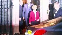 Ursula von der Leyen departs Downing Street
