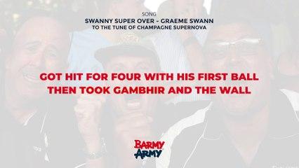 Swanny Super Over - Graeme Swann