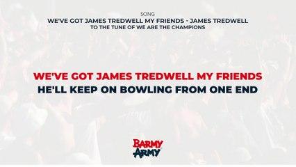 We've got James Tredwell my friends - James Tredwell