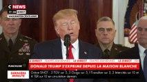 Donald Trump : «Tant que je serai président des Etats-Unis, jamais l'Iran n'aura l'arme nucléaire»