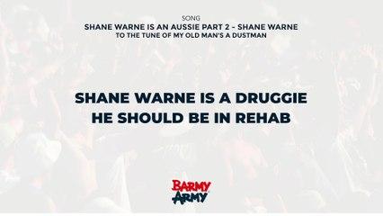 Shane Warne is an Aussie Part 2 - Shane Warne